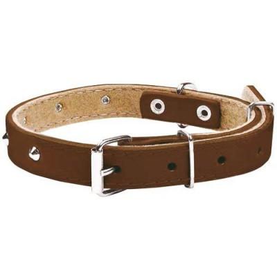 Chaba 600705 dog/cat collar Brown Leather Standard collar