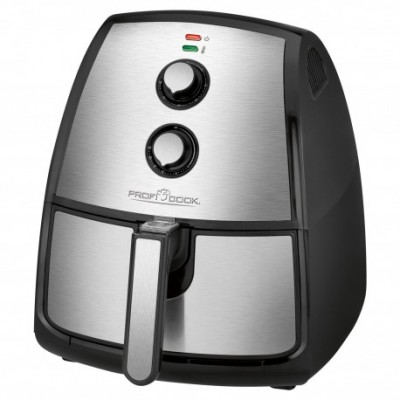 Clatronic PC-FR 1115 H Hot air fryer 3.5 L Single Black,Stainless steel Stand-alone 1500 W