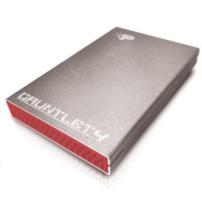"Patriot Memory Gauntlet 4 2.5"" HDD/SSD enclosure Aluminium"
