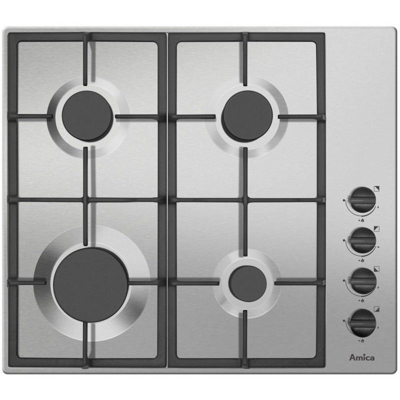 Amica PGB60XR hob Stainless steel Built-in Gas 4 zone(s)