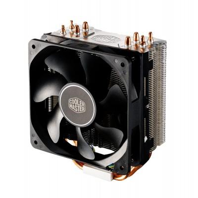 Cooler Master Hyper 212X Processor 12 cm Aluminium, Black, Copper