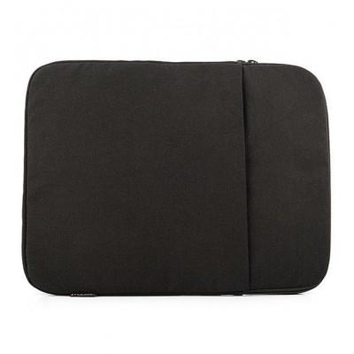 "Logic Concept PLUSH notebook case 39.6 cm (15.6"") Shell case Black"