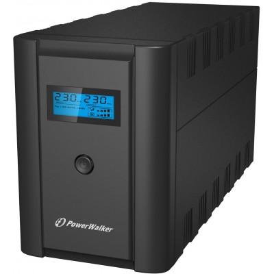 PowerWalker VI 2200 LCD/FR uninterruptible power supply (UPS) Double-conversion (Online) 2200 VA 1200 W 4 AC outlet(s)