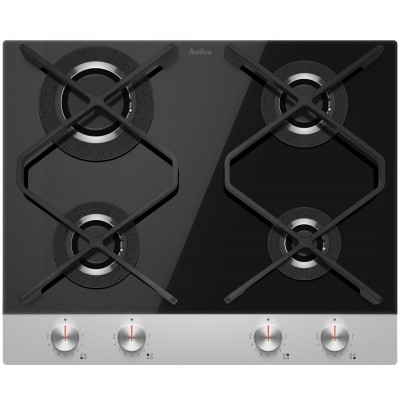 Amica  PG6710SRB Q-TYPE hob Built-in Gas 4 zone(s)