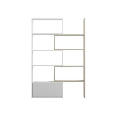Cama bookcase PACO white/sonoma oak