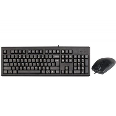 A4Tech KM-720620D keyboard USB QWERTY English Black