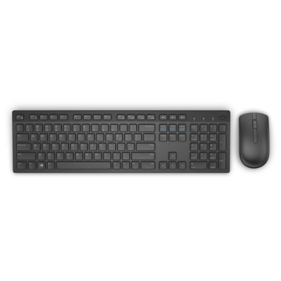 DELL KM636 keyboard RF Wireless QWERTY US International Black