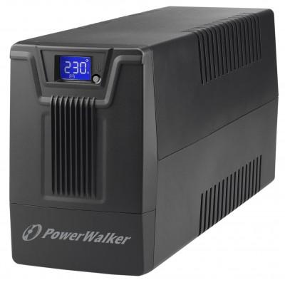 PowerWalker VI 600 SCL FR uninterruptible power supply (UPS) Line-Interactive 600 VA 360 W 2 AC outlet(s)