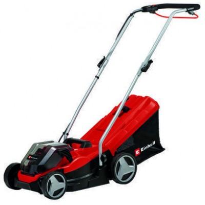 Einhell GE-CM 36/33 Li (2x2,5Ah) Walk behind lawn mower Battery Black, Red