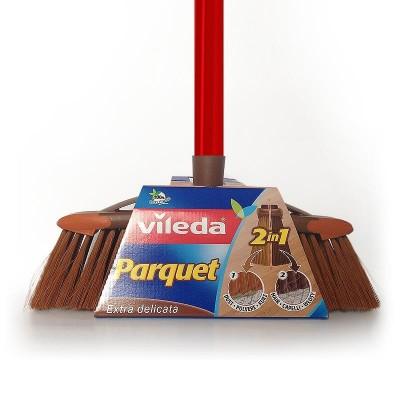 Sweeping brush VILEDA 2in1 Parquet ( brown)