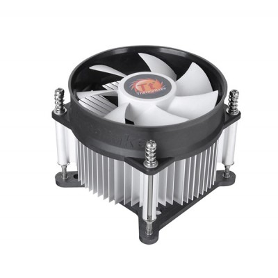 Thermaltake Gravity i2 Processor Cooler 9.2 cm Aluminium, Black, White