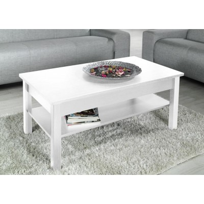 Cama coffee table UNI 110/60/47 white mat