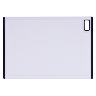 Kesper 30891 kitchen cutting board Rectangular Plastic Grey, White
