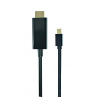 "Gembird *Mini DisplayPort cable to HDMI 4K 1.8m 70.9"" (1.8 m)"