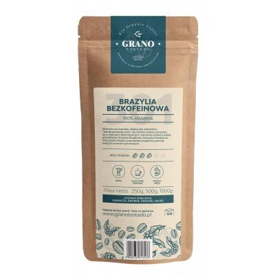 Grano Tostado Brazil Decaf Whole Bean Coffee 500 g