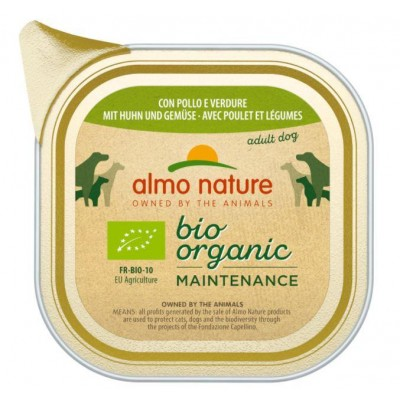 ALMO NATURE Daily Menu Bio Organic Chicken and vegetables 100 g