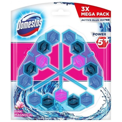 Domestos Power 5+ Disinfecting cleaner Solid Pink Magnolia
