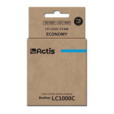 Actis KB-1000C ink cartridge for Brother LC1000/LC970 cyan