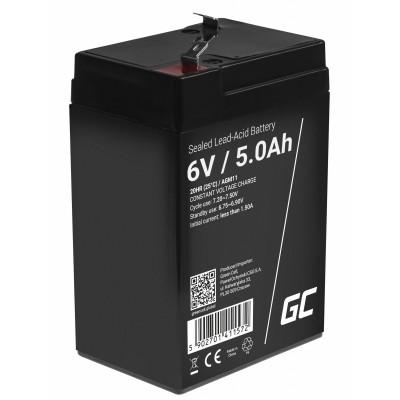 Green Cell AGM11 UPS battery Sealed Lead Acid (VRLA) 6 V 5 Ah