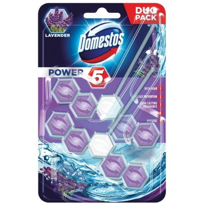 Domestos Power 5 Disinfecting cleaner Solid Lavender