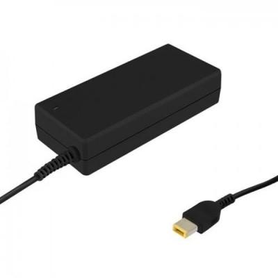 Qoltec 50053 power adapter/inverter Indoor 65 W Black