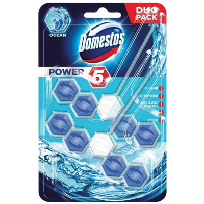 Domestos Power 5 Disinfecting cleaner Solid Ocean