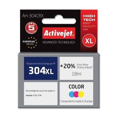 Activejet AH-304CRX ink for Hewlett Packard No.304XL N9K07AE