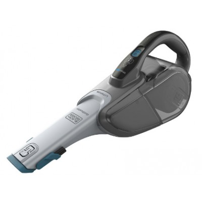 Black & Decker DVJ325BF handheld vacuum Bagless Blue, Grey