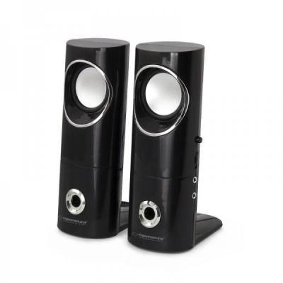 Esperanza 2.0 BEAT speaker set 2.0 channels 6 W Black