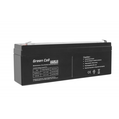 Green Cell AGM18 UPS battery Sealed Lead Acid (VRLA) 12 V 2,3 Ah