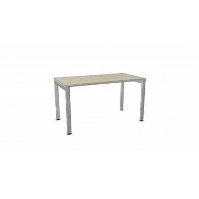 Biurko ART BSA73 137x70xH.76 akacja/metal