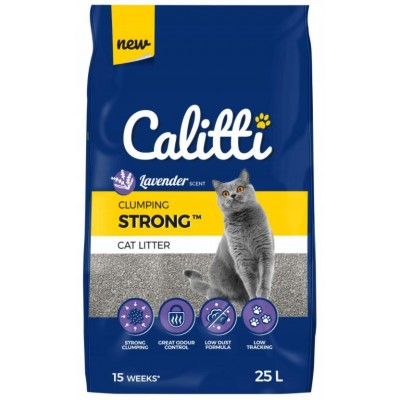 Calitti Strong Lavender - Bentonite litter 25 l