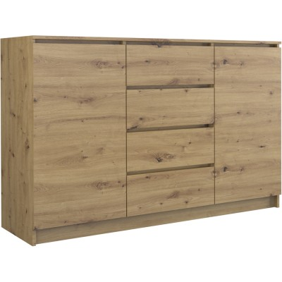 Topeshop 2D4S 140 ARTISAN chest of drawers