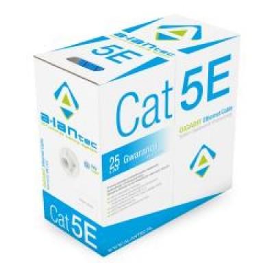 Alantec KIU5PVCB305 networking cable 305 m Cat5e U/UTP (UTP) Blue
