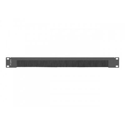 Lanberg AK-1103-B rack accessory Brush panel