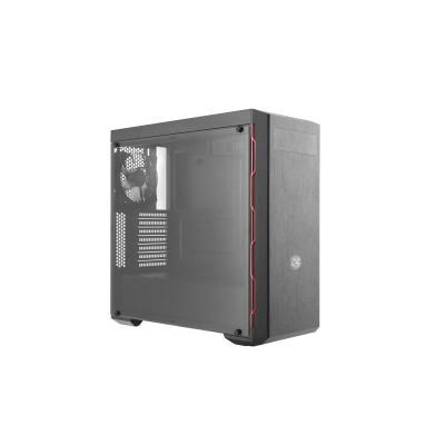 Cooler Master MasterBox MB600L Midi Tower Black,Red