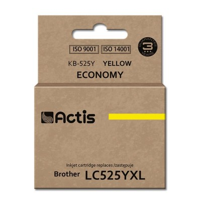 Actis KB-525Y ink cartridge for Brother printer (LC-525Y comaptible)
