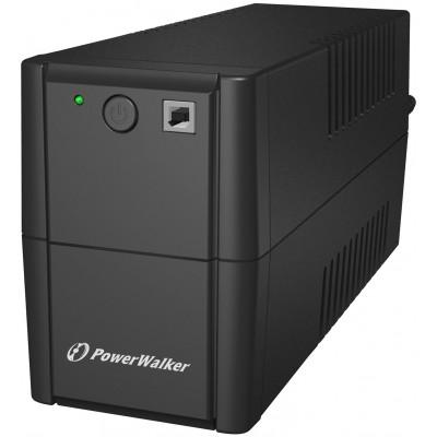 PowerWalker VI 850 SH FR uninterruptible power supply (UPS) Line-Interactive 850 VA 480 W 2 AC outlet(s)