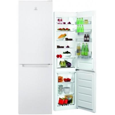 Indesit LR9 S1Q F W fridge-freezer Freestanding White 368 L A+