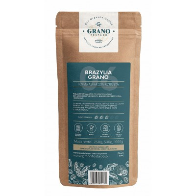 Grano Tostado Brazylia Grano Coffee, medium ground 500 g