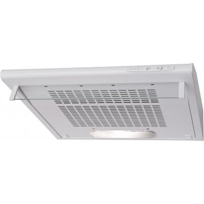 Amica OSC6112W cooker hood 193 m3/h White D
