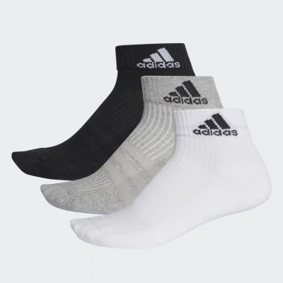 Adidas 3-Stripes Performance Ankle Multicolor Unisex 3 pair(s)