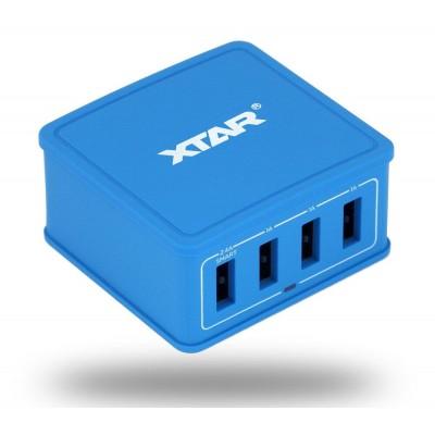 Wall Charger Xtar 4U 4x USB 5.4A 27W
