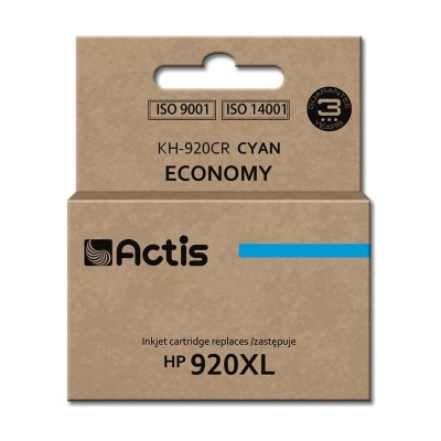 Actis cyan ink for HP printer (HP 920XL CD972AE replacement)