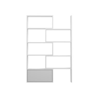 Cama bookcase PACO white/white