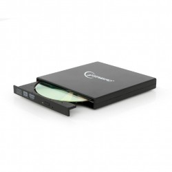 Gembird DVD-USB-02 optical disc drive Black DVD±RW
