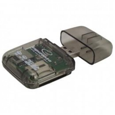 Esperanza EA132 card reader Transparent USB 2.0