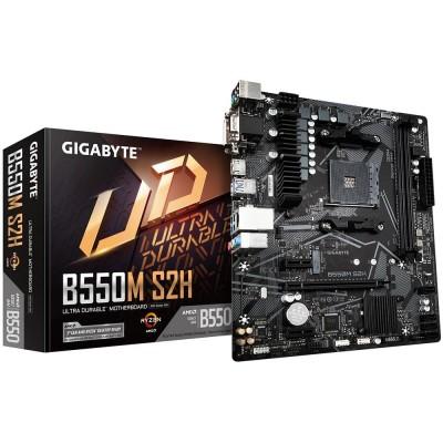 Gigabyte B550M S2H AMD B550 Socket AM4 micro  ATX