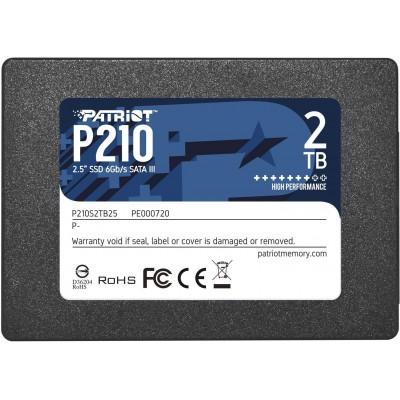 """Patriot Memory P210 2.5"""" 2000 GB Serial ATA  III"""
