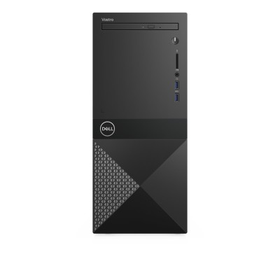 DELL Vostro 3671 9th gen Intel® Core™ i3 i3-9100 8 GB DDR4-SDRAM 256 GB SSD Mini Tower Black PC Windows 10 Pro